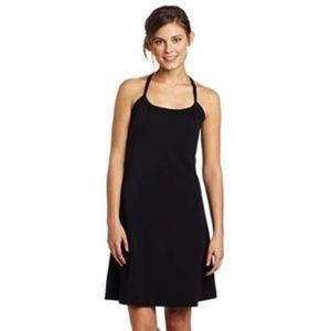 Prana black bra top athletic dress size small